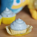 Recipe: Lemon Cupcakes with Blueberry Cream Cheese Frosting