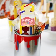 Paint Can Party Favors