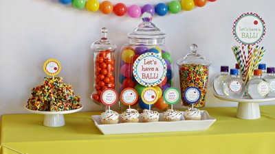 Ball Themed Birthday Party for Kids