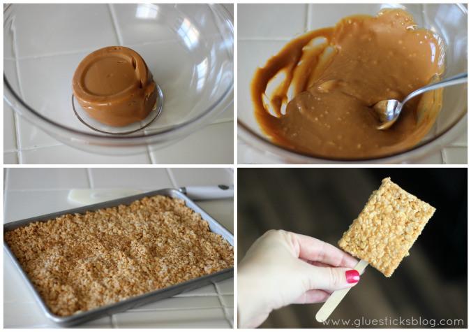 Caramel-Crispy-Treats