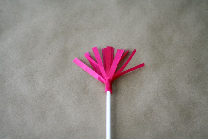 Finished DIY Party Pick - Perfect To Top A Cake, Cupcakes, Or Other Party Foods