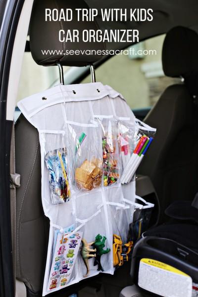 Road Trip Hack: Car Organizer