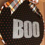 Halloween: Front Door Hoop Art