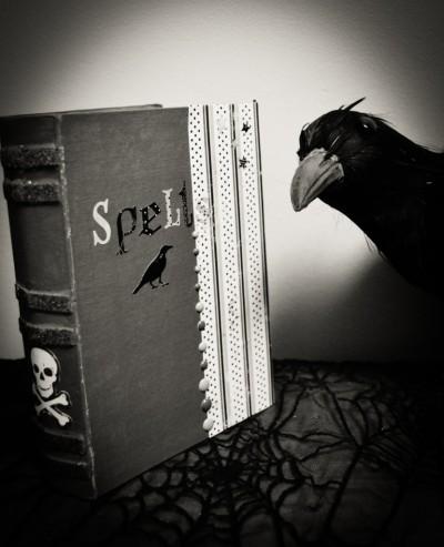 Halloween Spell Book Decor Tutorial