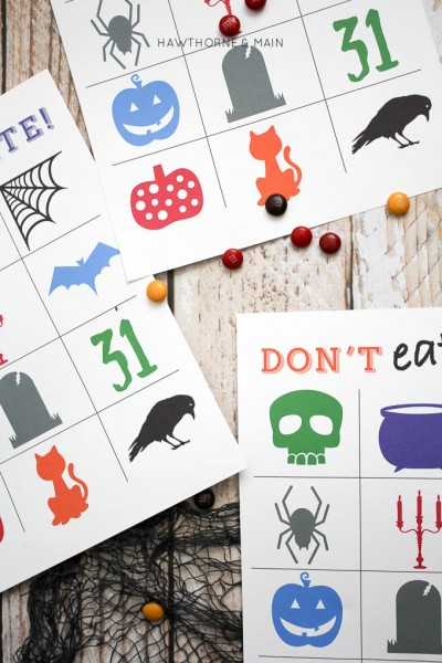 Halloween Don't Eat Pete Printable Game