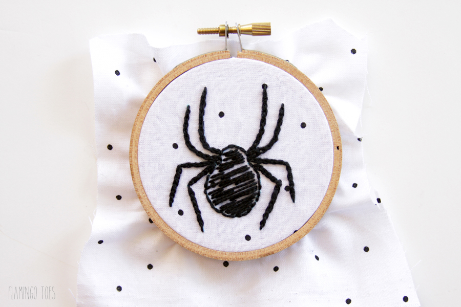 Embroidery-Spider