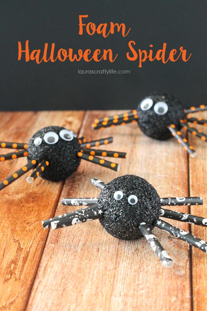 Foam-Halloween-Spider-Lauras-Crafty-Life