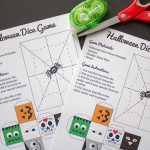 Halloween: Dice Game for Kids