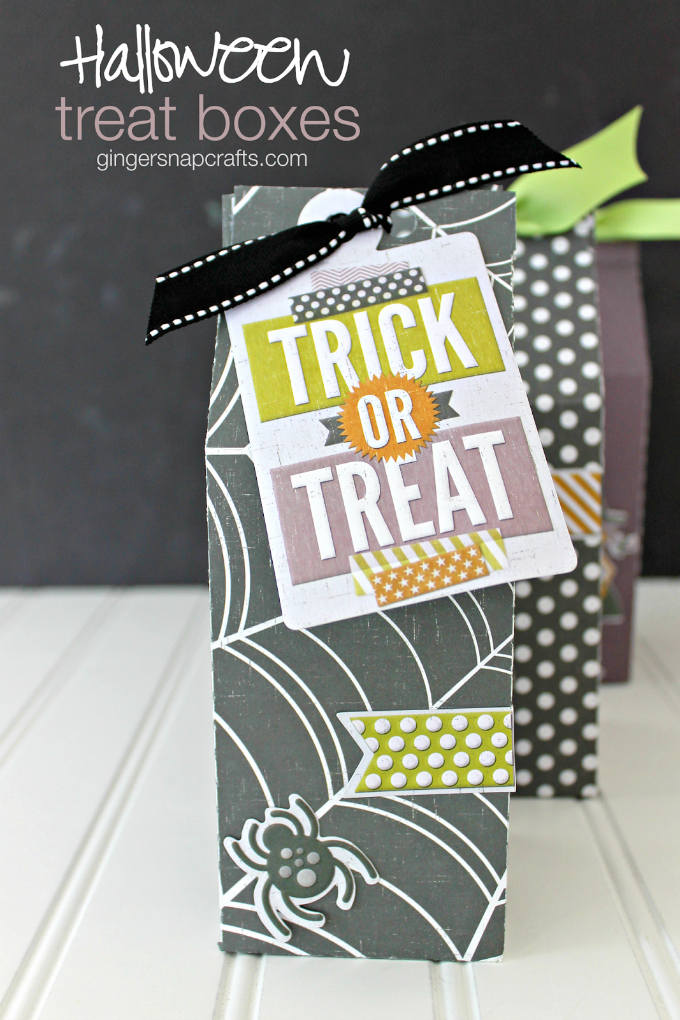Halloween Treat Boxes at GingerSnapCrafts.com #wermemorykeepers #lifestylestudios-1