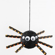 Halloween Foam Spider Craft