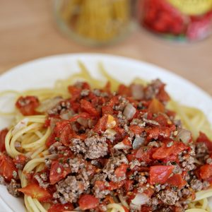 Homemade Meat Sauce Recipe
