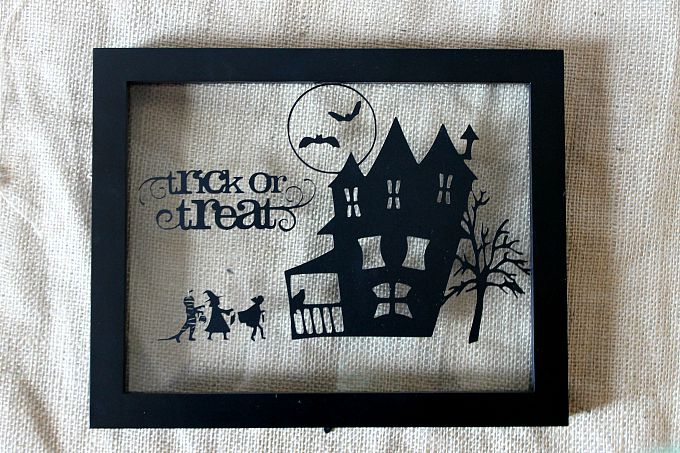 Trick or Treat Shadowbox Vinyl