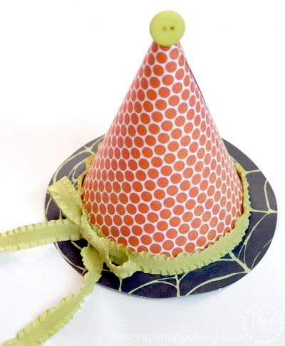 DIY Halloween Witch Party Hat