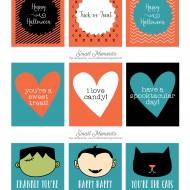 Halloween: Free Printable Tags