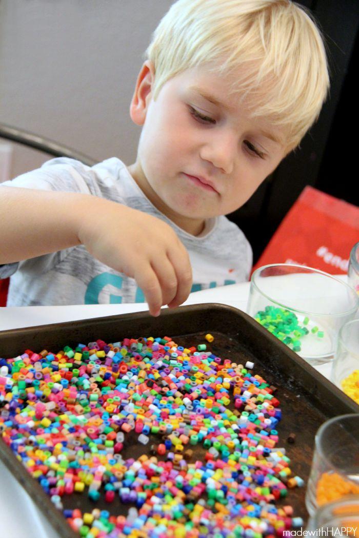 sorting-perler-beads