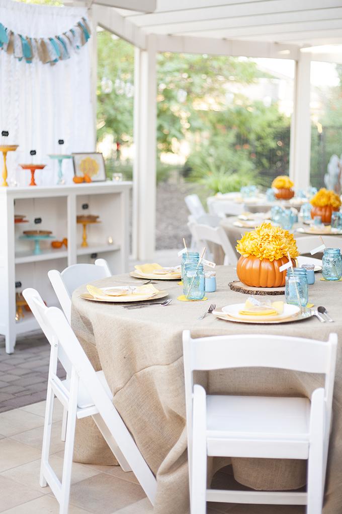 Party: Little Pumpkin Baby Shower - See Vanessa Craft