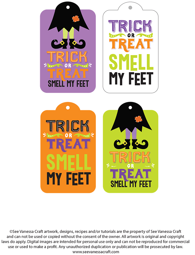 Smell My Feet Printable