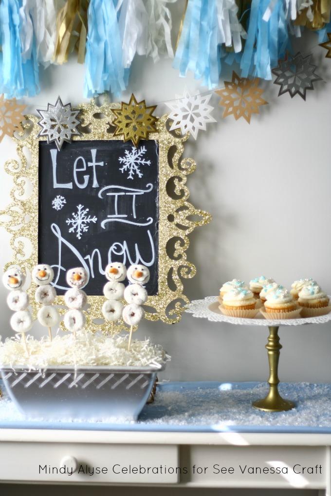 Let It Snow Hot Coco Bar