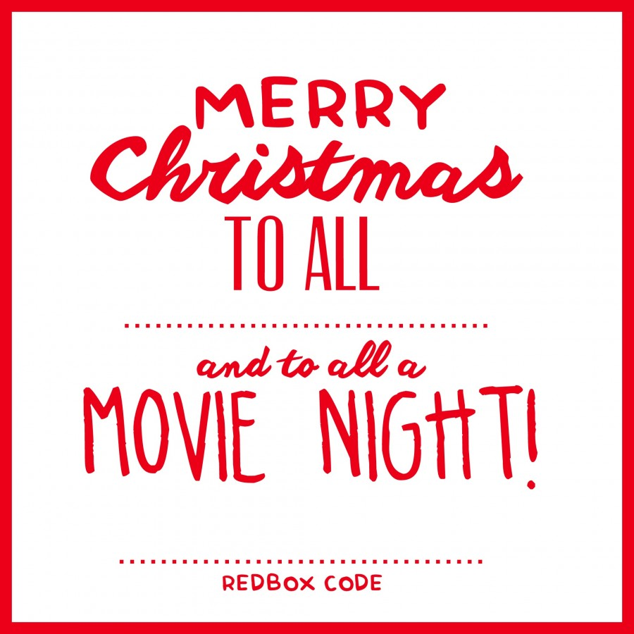 photo regarding Redbox Printable referred to as Xmas: Online video Night time Redbox Present Concept - Look at Vanessa Craft