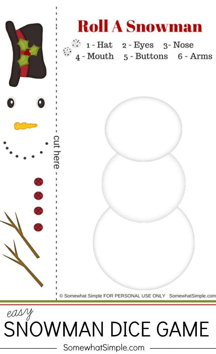 Roll-A-Snowman-Game-Somewhat-Simple