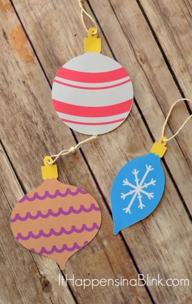Silhouette-ornaments