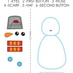 Free Printable Snowman Dice Game