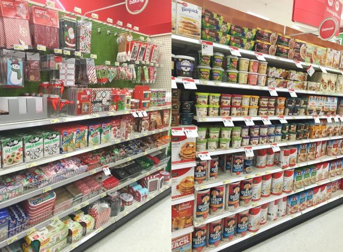 Target Christmas Aisle