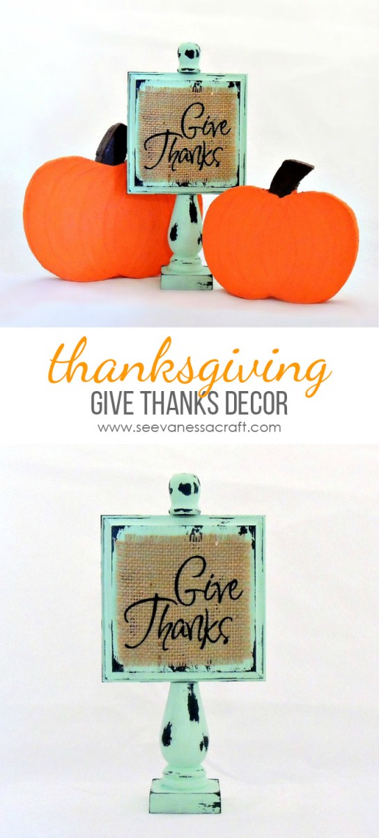 Thankgiving Wood Decor