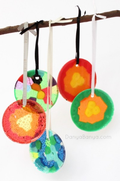 Various-melted-pony-bead-ornaments