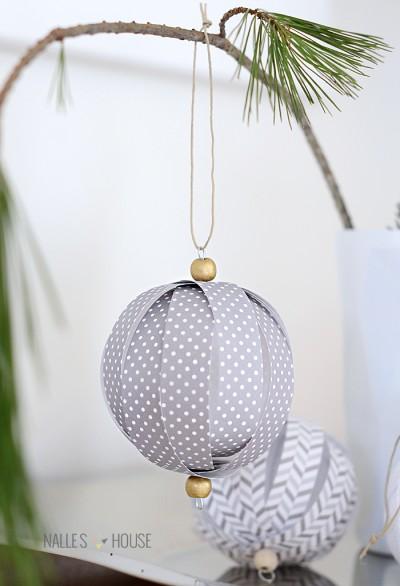 paper ball ornament 3b