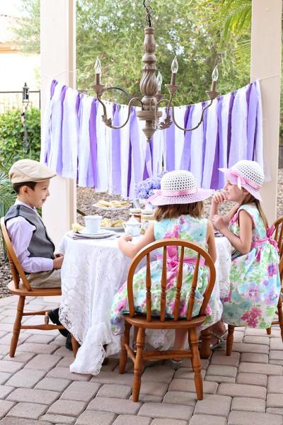 Kid-friendly Tea Party