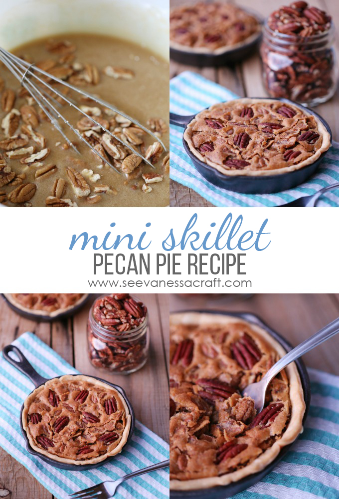 Mini Skillet Pecan Pie Recipe
