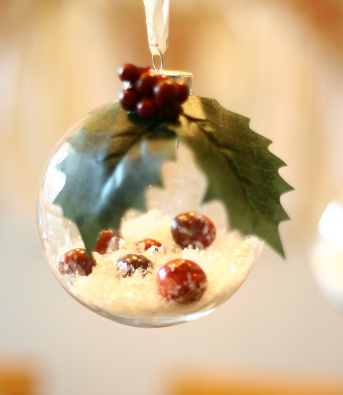 Hanging Winter Wonderland DIY Ornament