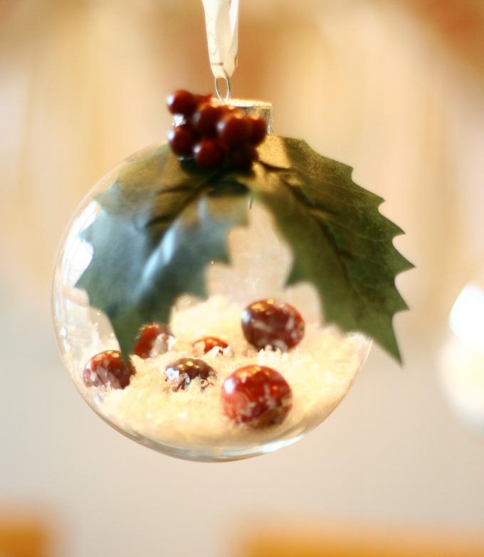 Hanging Winter Wonderland DIY Ornament