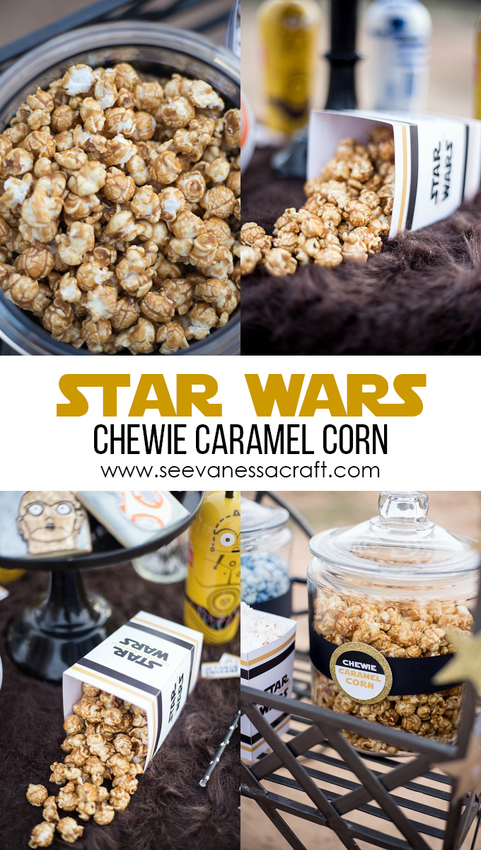 Star Wars Chewie Caramel Corn