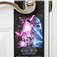 Printable: Star Wars Door Hanger & Activities