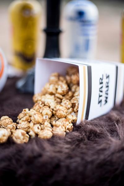 Force Awakens Star Wars Chewie Caramel Corn recipe