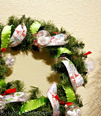 Family Wish Wreath Tutorial for Christmas