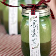 Christmas: Homemade Buttermilk Syrup Gift