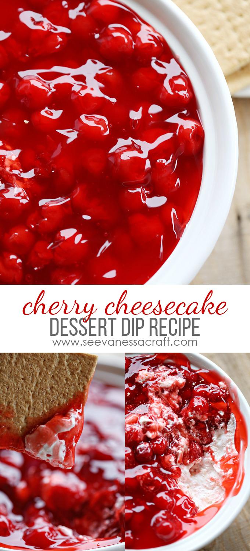 Cherry Cheesecake Dip copy