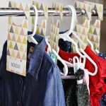 Printable: Daily Outfit Closet Hangers