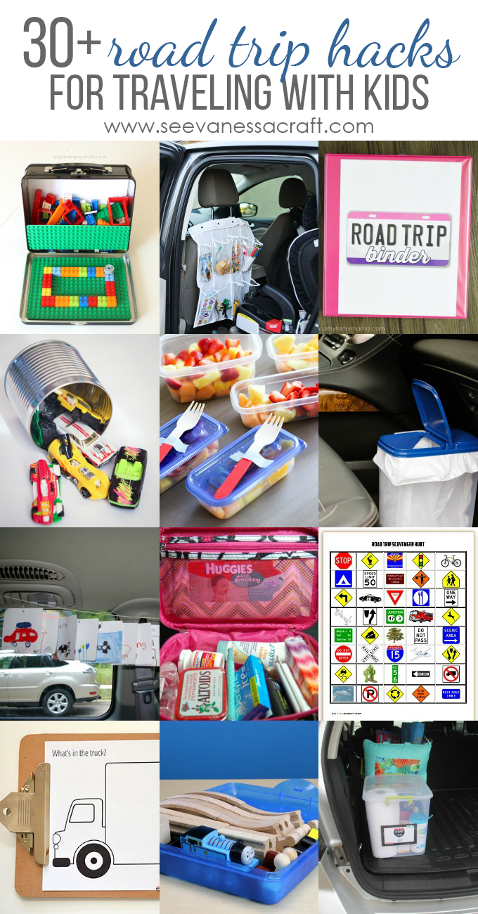 Road Trip Hacks for Traveling With Kids