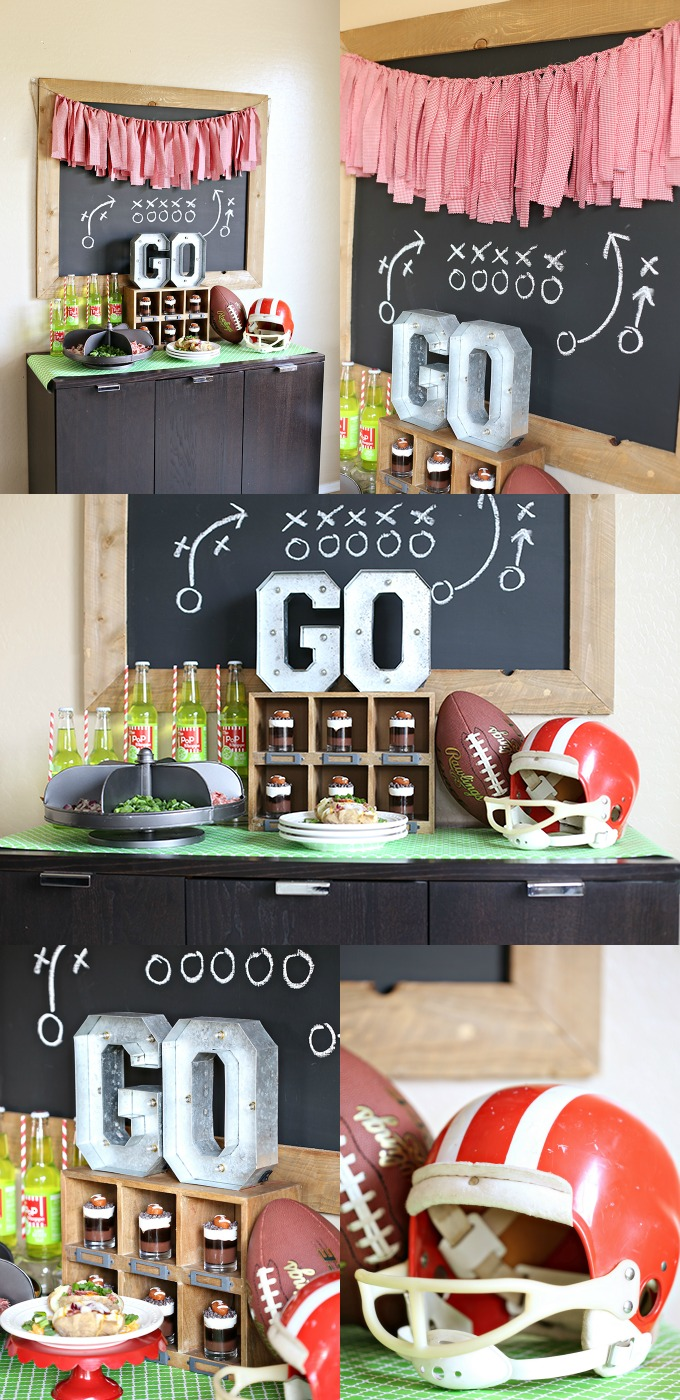 World Market Football Party - Decor