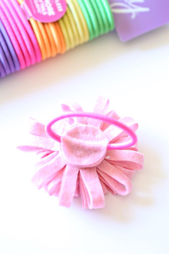 Felt Flower Hairtie 6 copy