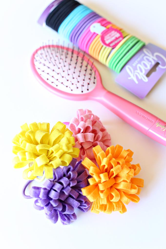 Felt Flower Hairtie 7 copy