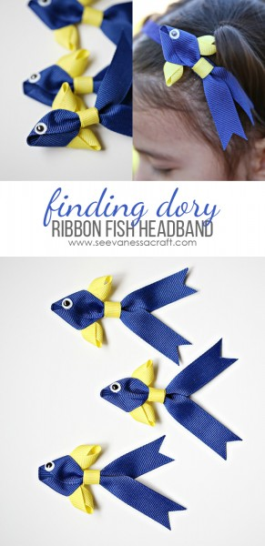 Finding Dory Ribbon Fish Headband