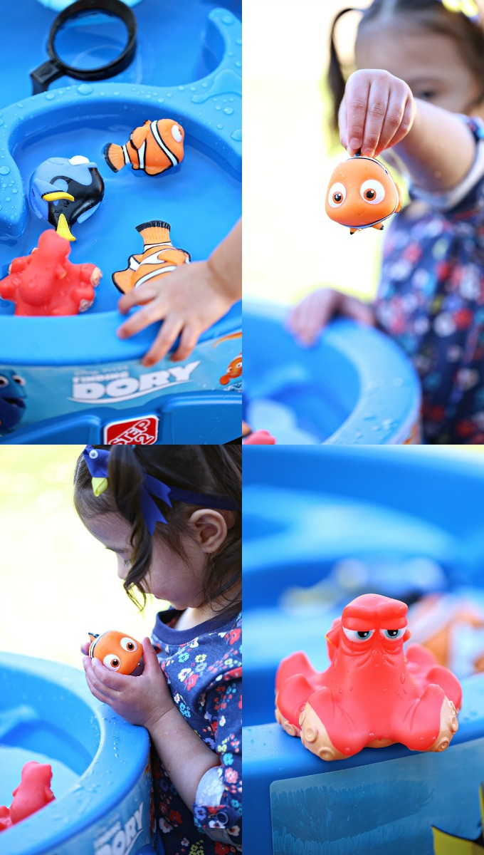 Finding Dory Water Table Collage 2