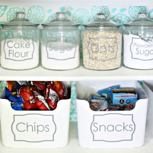 Small Pantry Makeover Ideas