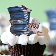 Disney: Zootopia Sheep Cupcakes + Movie Ticket Giveaway