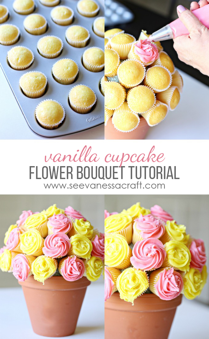 Cupcake Flower Pot Tutorial